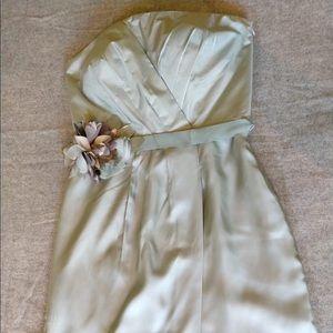 NWT banana republic strapless bridesmaids dress